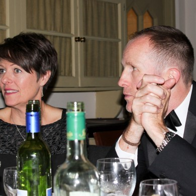 Jo Hindley - Optima End of Season dinner 2014