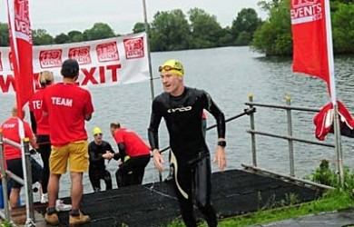 Andy Hinley Cotswold 113 Middle Distance Triathlon Race Report