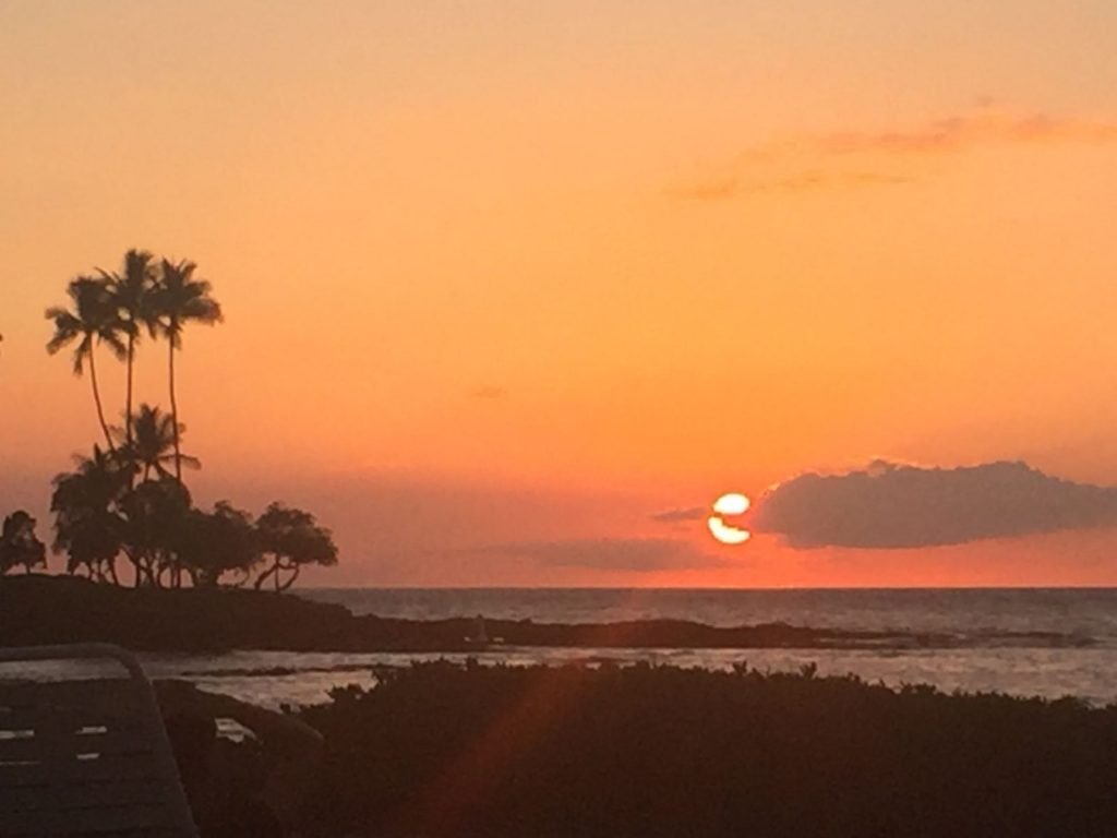 James Beckinsale, Kona 2016 sunset
